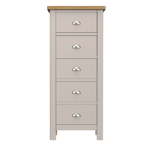 Cranleigh 5 Drawer Narrow Chest